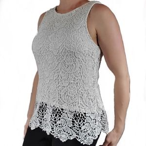 Lucky Brand Lace Tank Blouse